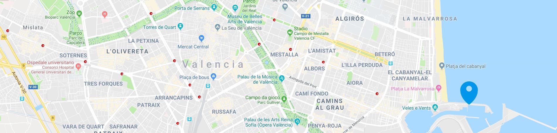 map-boat-and-breakfast-valencia
